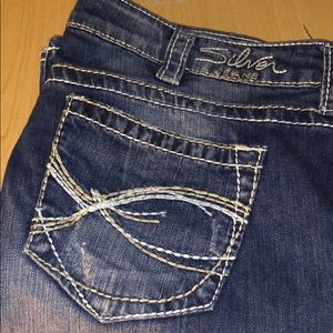 👖 Women's Silver Jeans Eden Flare Pants Bottoms